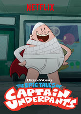 The Epic Tales of Captain Underpants Netflix BR (Brazil)