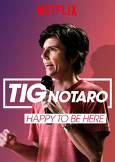 Tig Notaro Happy To Be Here Netflix BR (Brazil)